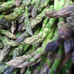 Asparagus of spring