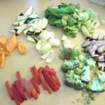 vegetable sensation – honey, lemon, tamari stir fry