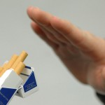 why do people eat more when they quit smoking?