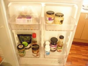 sarah's fridge door