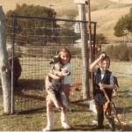 childhood country garden