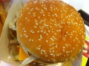 Macdonalds burger