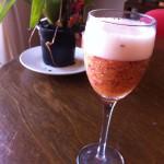 peach, nectarine, berry and wine cocktail recipe