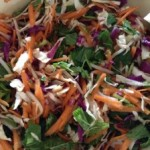 Asian flavours – chicken noodle salad