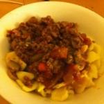 comfort food – semolina pasta
