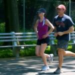 runner's high – Sunday morning exercise