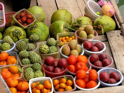 fruit and vegetables in Vietnam