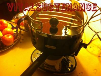 black espresso machine with shiny new surfaces