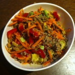 Dreaming of quinoa salad
