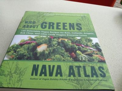 recipe book Wild about Greens - Nava Atlas