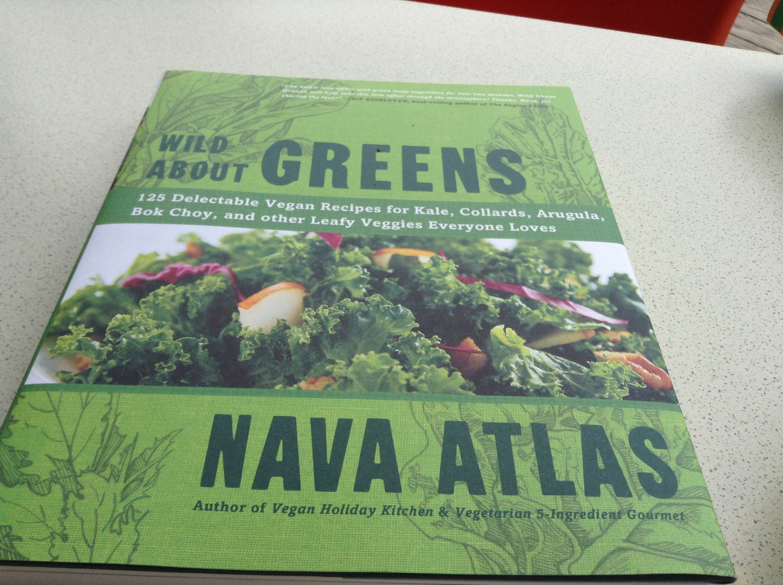 recipe book Wild about Greens - Nava Atlas