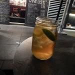 Peppermint tea refreshment