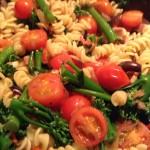 pancetta, tomato and olive pasta – a kitchen narrative