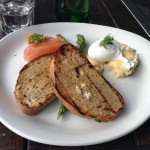 Sunday morning breakfast at rococo – St Kilda