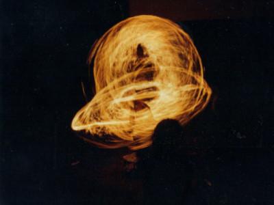 fire twirlers