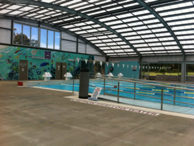 swimming laps at the pool - Pambula Beach aquatic centre
