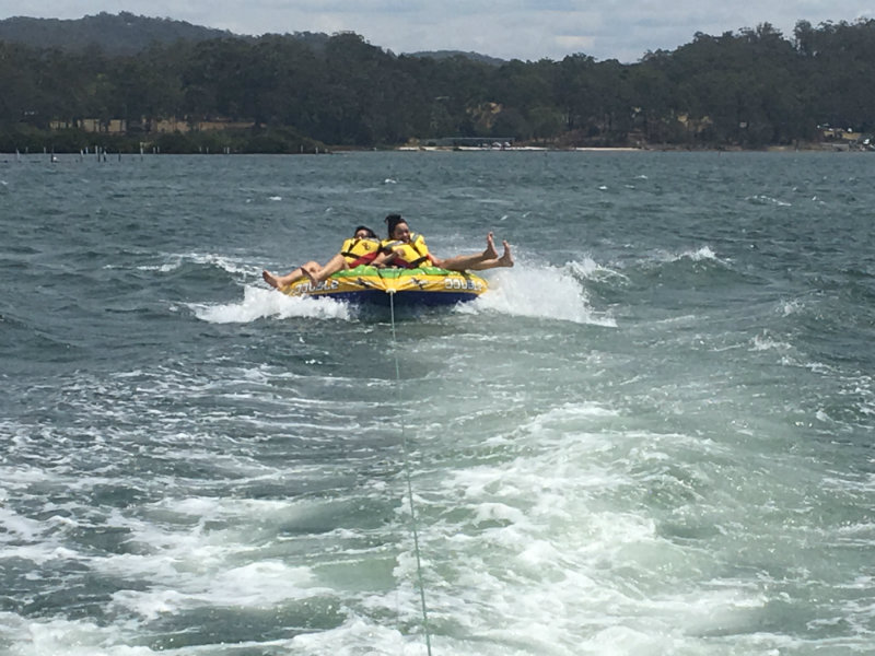 Blue Monday - holidays - water fun on Pambula Lake