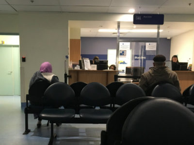 waiting room at st vincents hospital