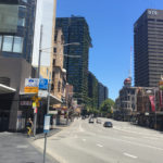 city buildings and skyscrapers on sydney street 2018