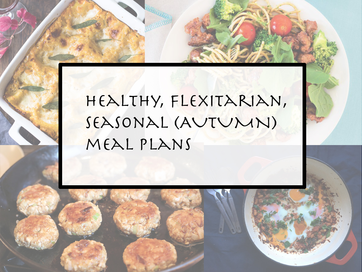 autumn meal planning infection busters comfort food pantry recipes