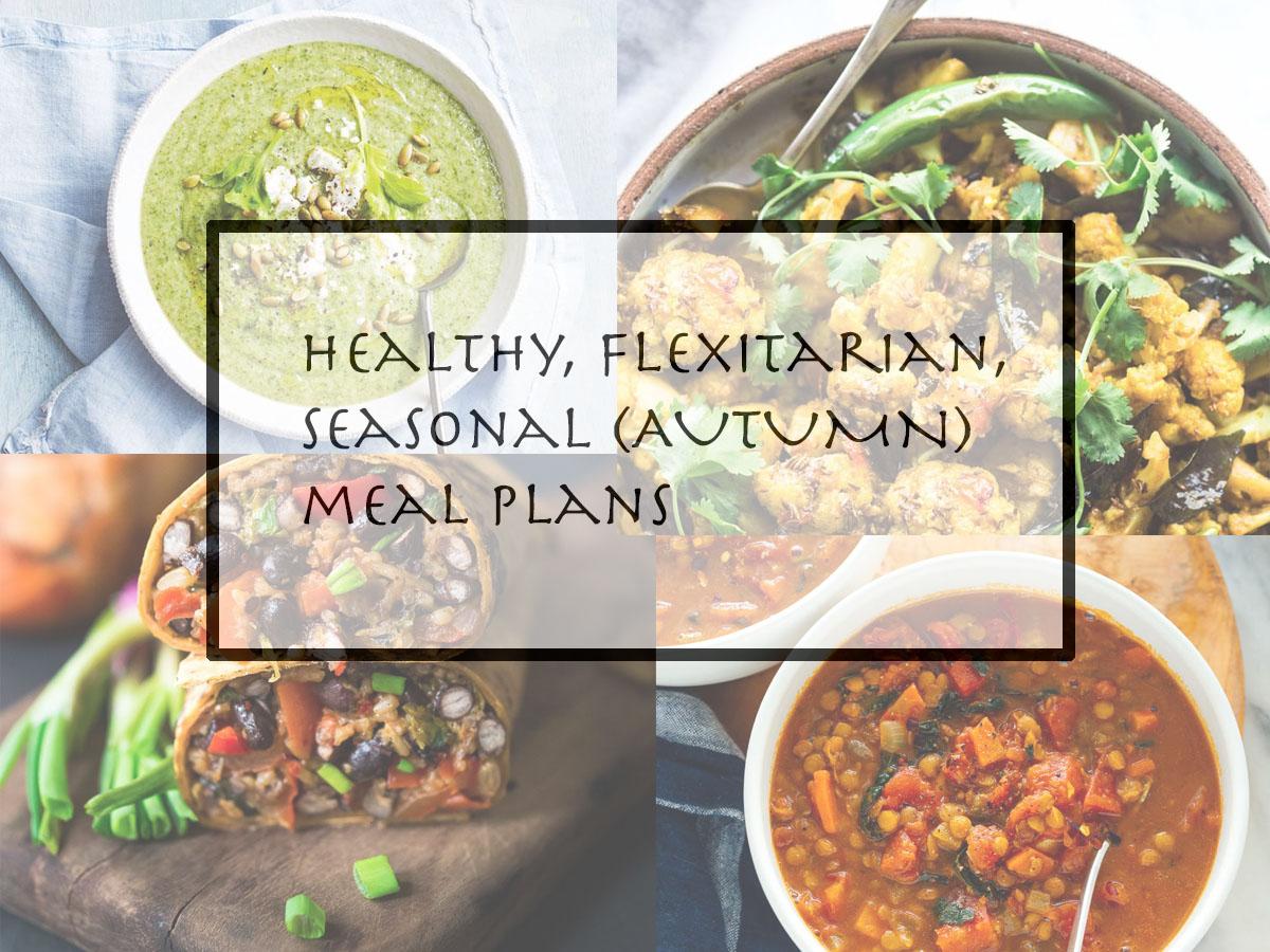 autum vegetarian meal planning