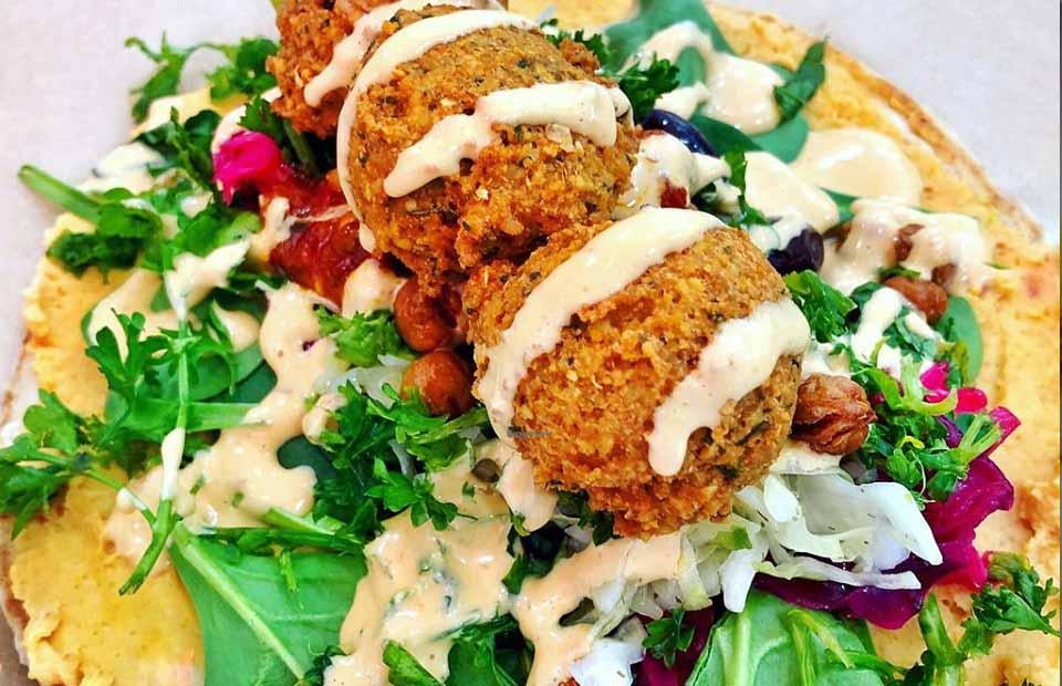 falafel place collingwood falafel wrap