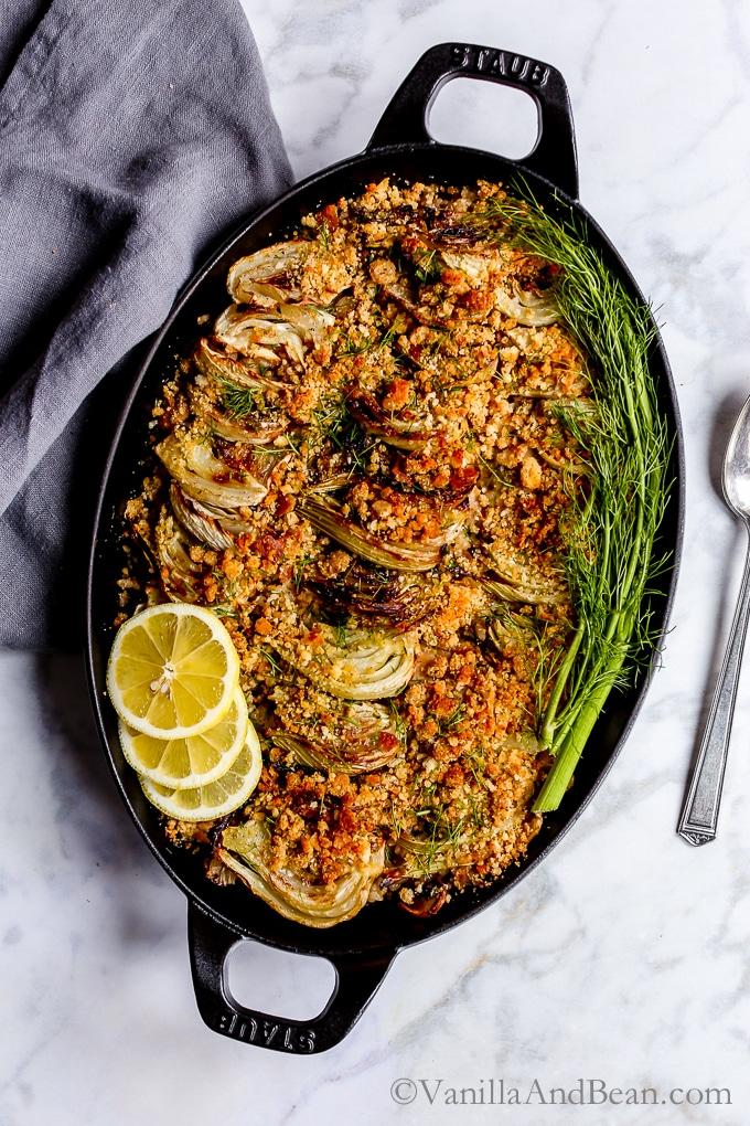 fennel gratin - superb winter comfort food