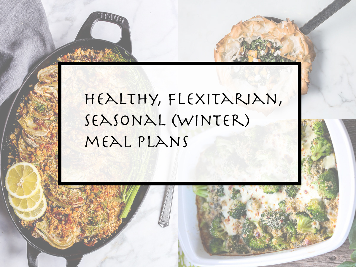 winter vegetarian meal plans