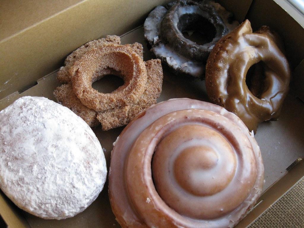 trans fats - in doughnuts