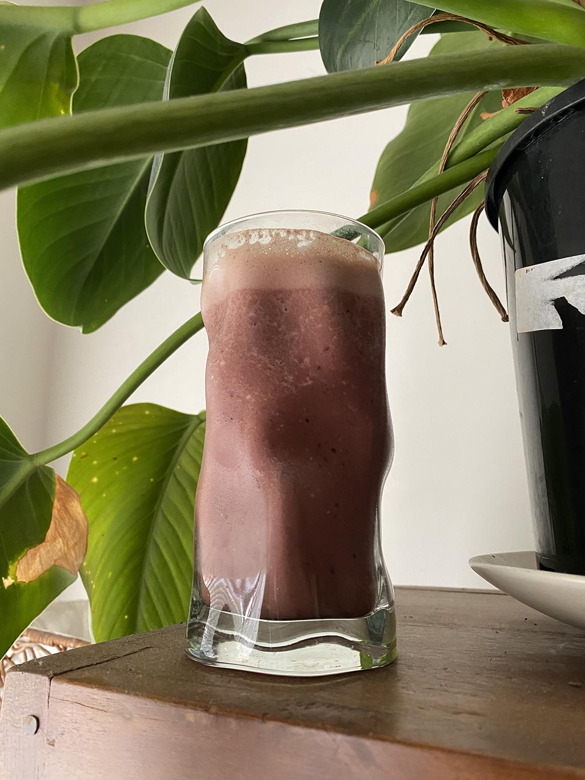 cherry ripe smoothie